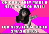 Idiot Nerd Girl