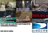"DirecTV ""Get Rid of Cable"" Commercials"