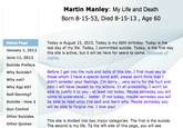 Martin Manley's Death