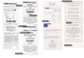 CVS Receipts