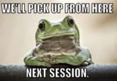 Empathetic Frog