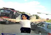 Road Raging Lady