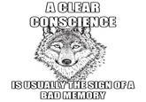 Sarcastic Wolf