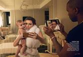 Kanye West and Kim Kardashian Vogue Cover
