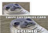 Awkward Moment Seal | Know Your Meme