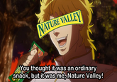 Nature Valley Anime Tweets