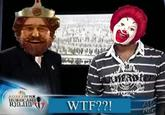 Ronald McDonald VS The Burger King