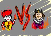 Ronald McDonald VS The Burger King