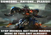 Overly Upset Optimus Prime