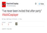 #NotACosplayer