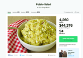 The Potato Salad Kickstarter