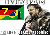 2014 World Cup Semfinal: Brazil vs. Germany