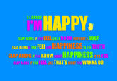 "Pharrell's ""Happy"""