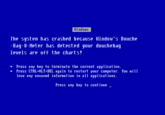 Blue Screen of Death (BSoD)
