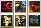Tarot Arcana Parodies