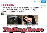 Rolling Stone's UVA Rape Story