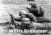 This Is a Flammenwerfer, It Werfs Flammen