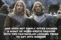 One Does Not Simply Walk into Mordor