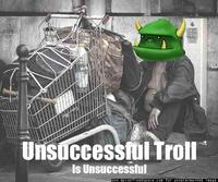 Unsuccessful-troll