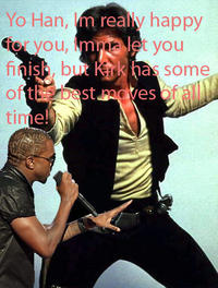 Kanye Interrupts / Imma Let You Finish