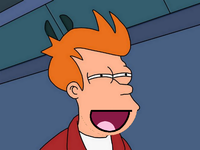 Fry looking squint / Fry squint