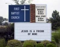 Churchsign_jesus_is_my_friend