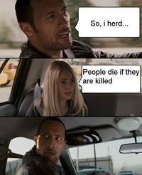 People Die If They Are Killed