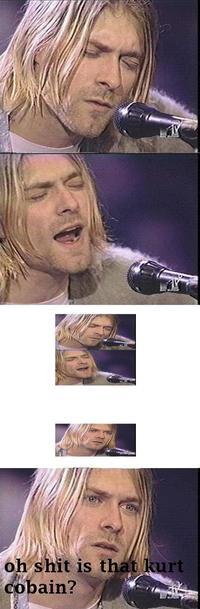 Kurt Cobain Reaction