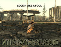 Pants on the Ground!