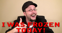 I Was Frozen Today!