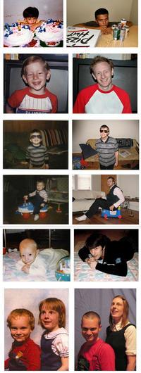 reenact childhood pictures