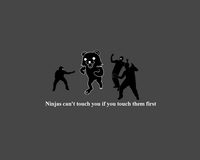 Ninjas Can't Catch You If...