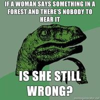 Philosoraptor-if-a-woman-says-something-in-a-forest-and-theres-nobody-to-hear-it-is-she-still-wrong