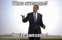 Who's Awesome? You're Awesome! / Sos Groso, Sabelo!