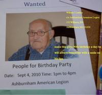 William Lashua's Birthday