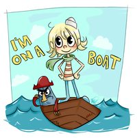 I'm on a Boat