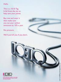 No Pressure / 10:10 Campaign