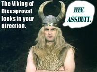 The viking of disapproval