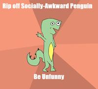 Socially Retarded Dinosaur