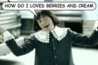 Berries and Cream / Star Burst Commercial