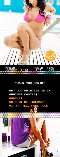 But Our Princess is in Another Castle!