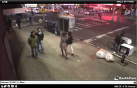 """NYC Cardstand Earthcam Trolling / """"I'll Be There in 30 Minutes"""""""