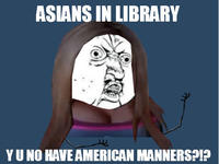 Asians in the Library