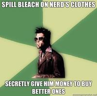 Disruptive Durden / Helpful Tyler Durden
