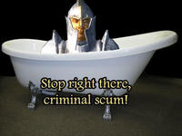 Stop Right There, Criminal Scum