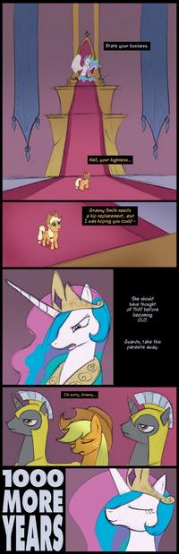 Trollestia / Molestia / Tyrant Celestia