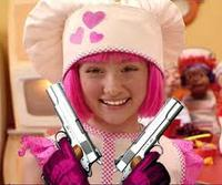Lazy town girl