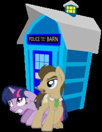 Doctor Whooves / Time Turner