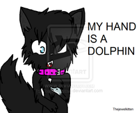 My Hand is a Dolphin