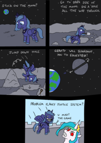 Princess Troll Luna